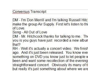 Transcript Image