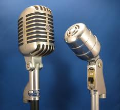 dueling microphones