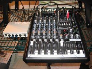 Mixer and Inline Patch Setup