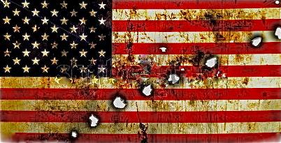 Shot Up Flag