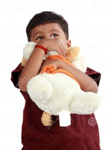 Child Hugging Toy