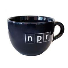 NPR coffee mug